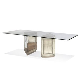 Hattie Mirrored Dining Table