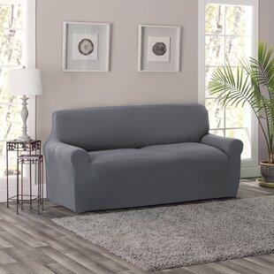 Grey Sofa Slipcovers You\'ll Love | Wayfair
