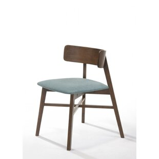 Velda Rubberwood Upholstered Dining Chair (Set of 2)