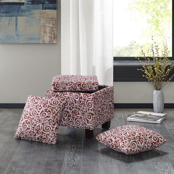 Awesome Laduke Storage Ottoman Gmtry Best Dining Table And Chair Ideas Images Gmtryco