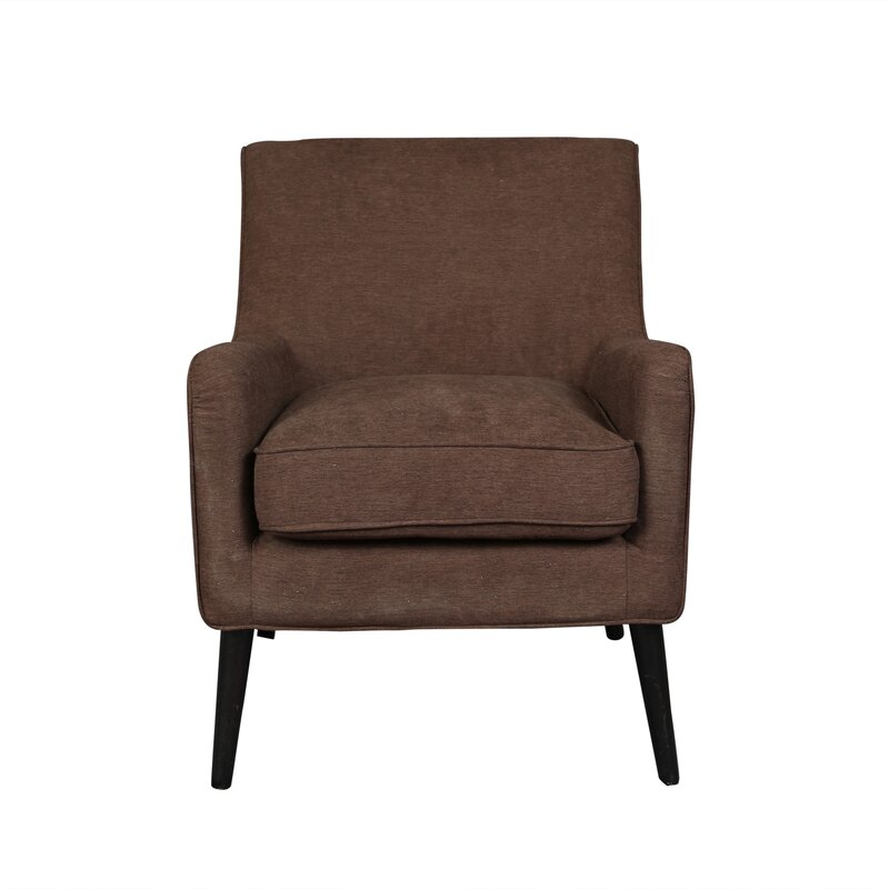 Modern Arm Chair porter international designs kristina mid century modern armchair