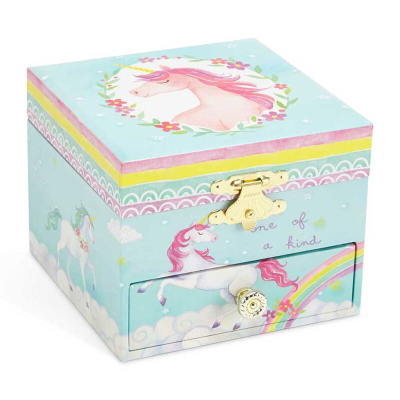 6db368a437 Harriet Bee Unicorn Musical Jewelry Box | Wayfair
