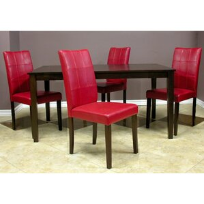 Evellen 5 Piece Dining Set (Set of 5) by Warehouse of Tiffany