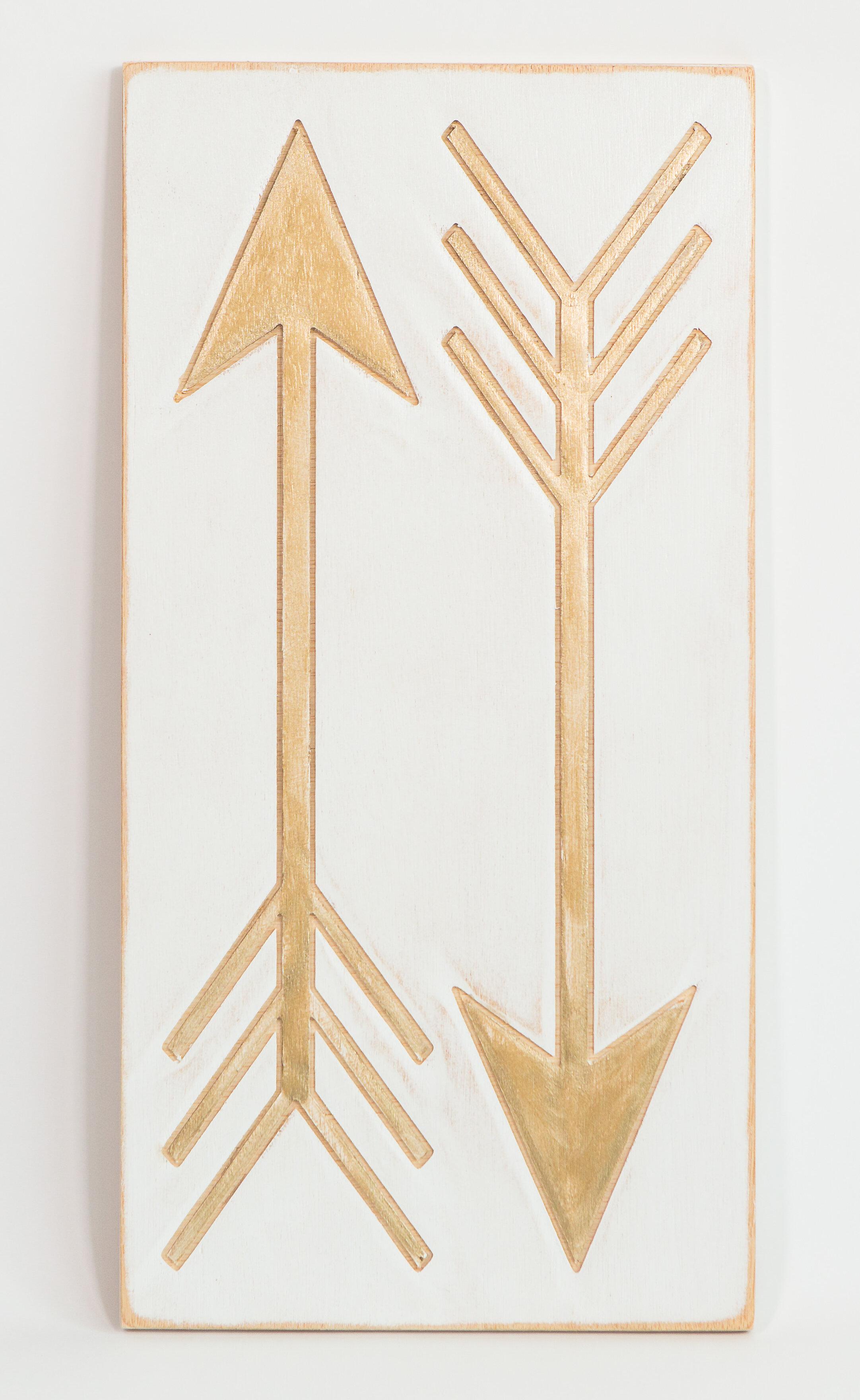 Boho Arrows Wooden Wall Decor