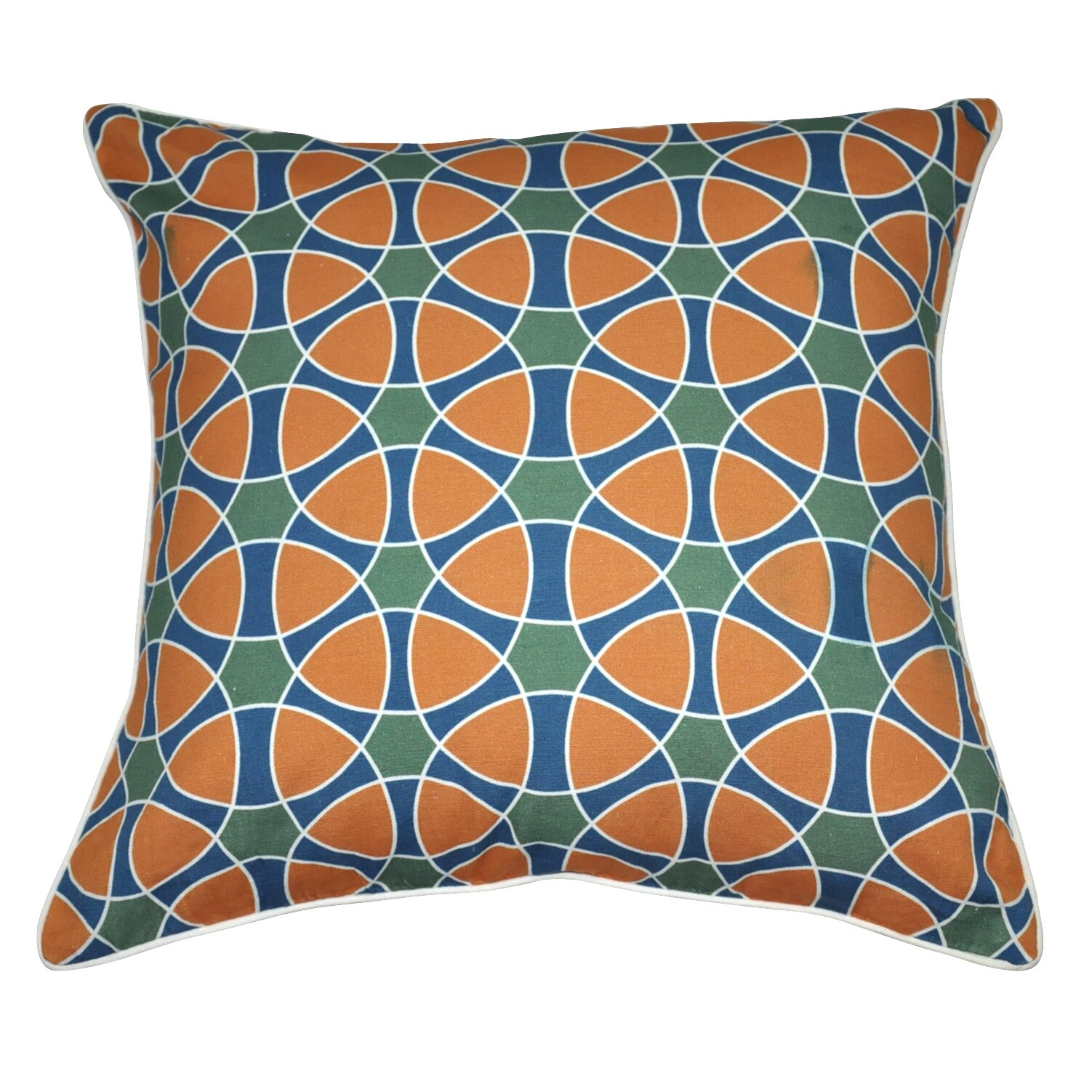 Loom And Mill Jessica Decorative Cotton Throw Pillow