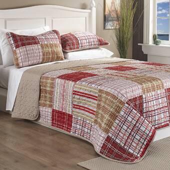 Eddie Bauer Willow Plaid Comforter Set & Reviews | Wayfair