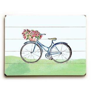 U0027Spring Bicycleu0027 Wall Art Plaque