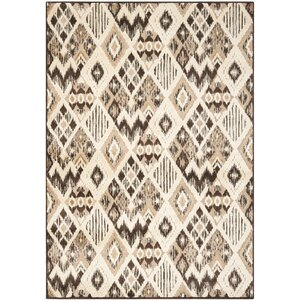 Thom Felica Brown/Taupe Area Rug