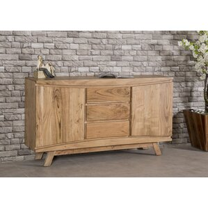 Harrill 3 Drawer 2 Door Credenza by Union Rustic