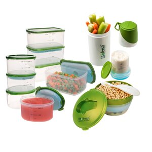 Perfect Portion 10 Container Food Storage Set