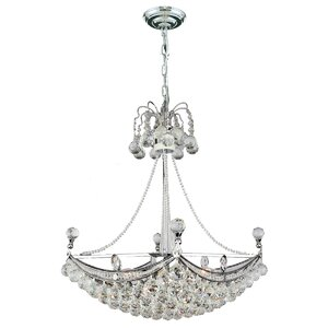Carson 6-Light Crystal Chandelier