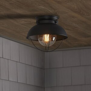 Corbel 1-Light Outdoor Flush Mount
