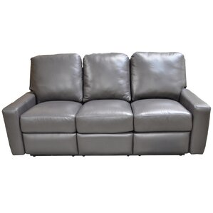 Mirage Leather Reclining Sofa ..