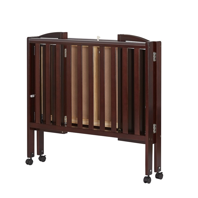 Dream On Me 2 In 1 Portable Folding Convertible Crib