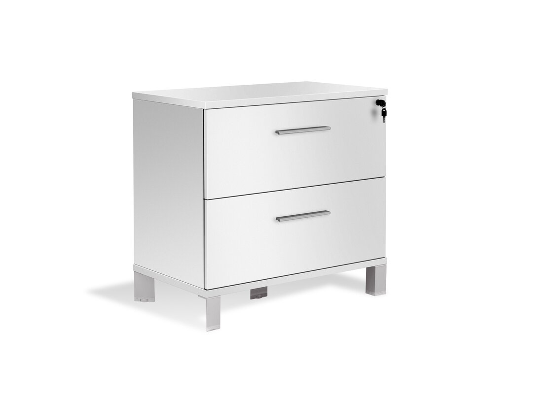 Elegant Pure Office 2 Drawer Lateral File