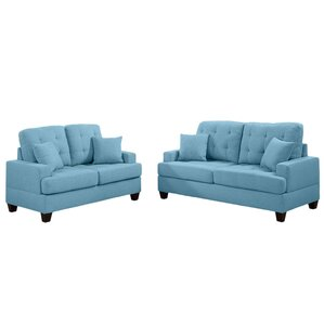 blue chairs for living room.  Blue Living Room Sets You ll Love Wayfair