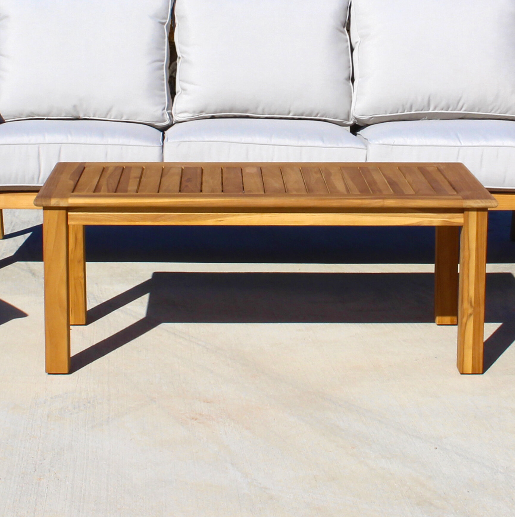 Solid Wood Coffee Table Wayfair: Rosecliff Heights Chancy Solid Wood Coffee Table
