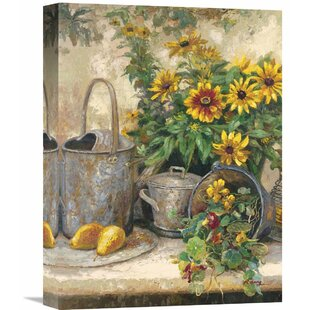 Sunflower Garden IIu0027 By Hong Painting On Wrapped Canvas