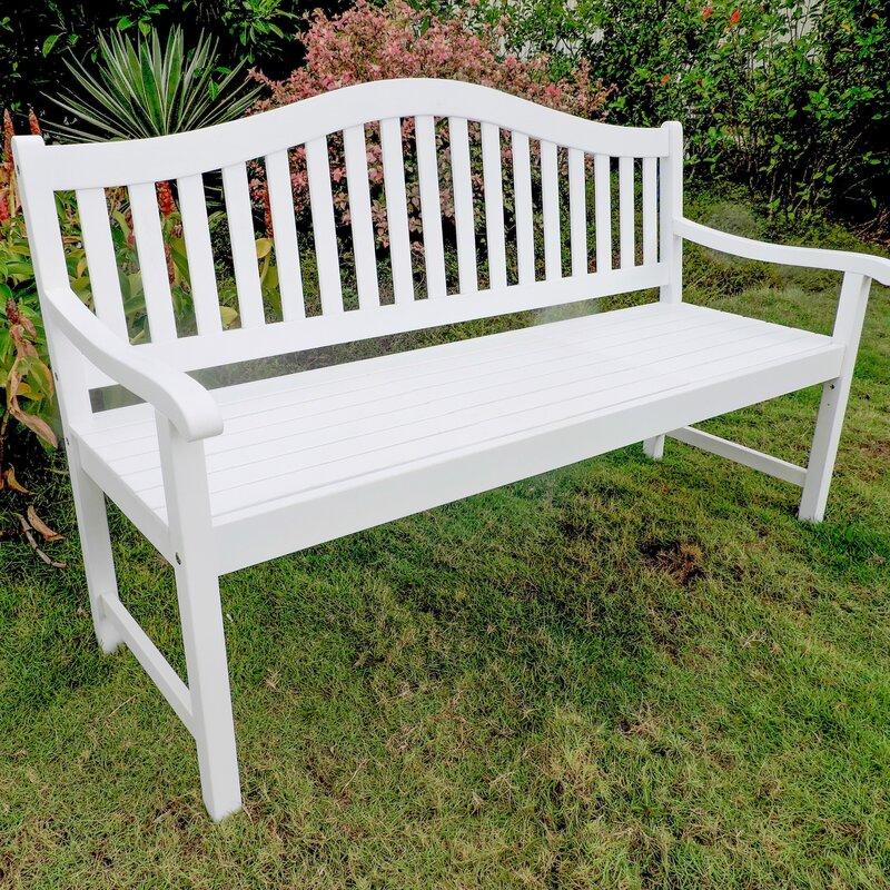 Breakwater Bay Enright Wooden Garden Bench & Reviews | Wayfair