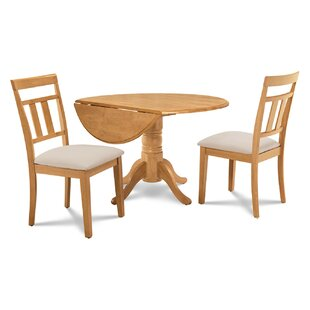 Chesterton 3 Piece Solid Wood Dining Set
