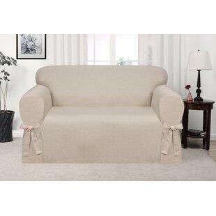 Genial Box Cushion Loveseat Slipcover
