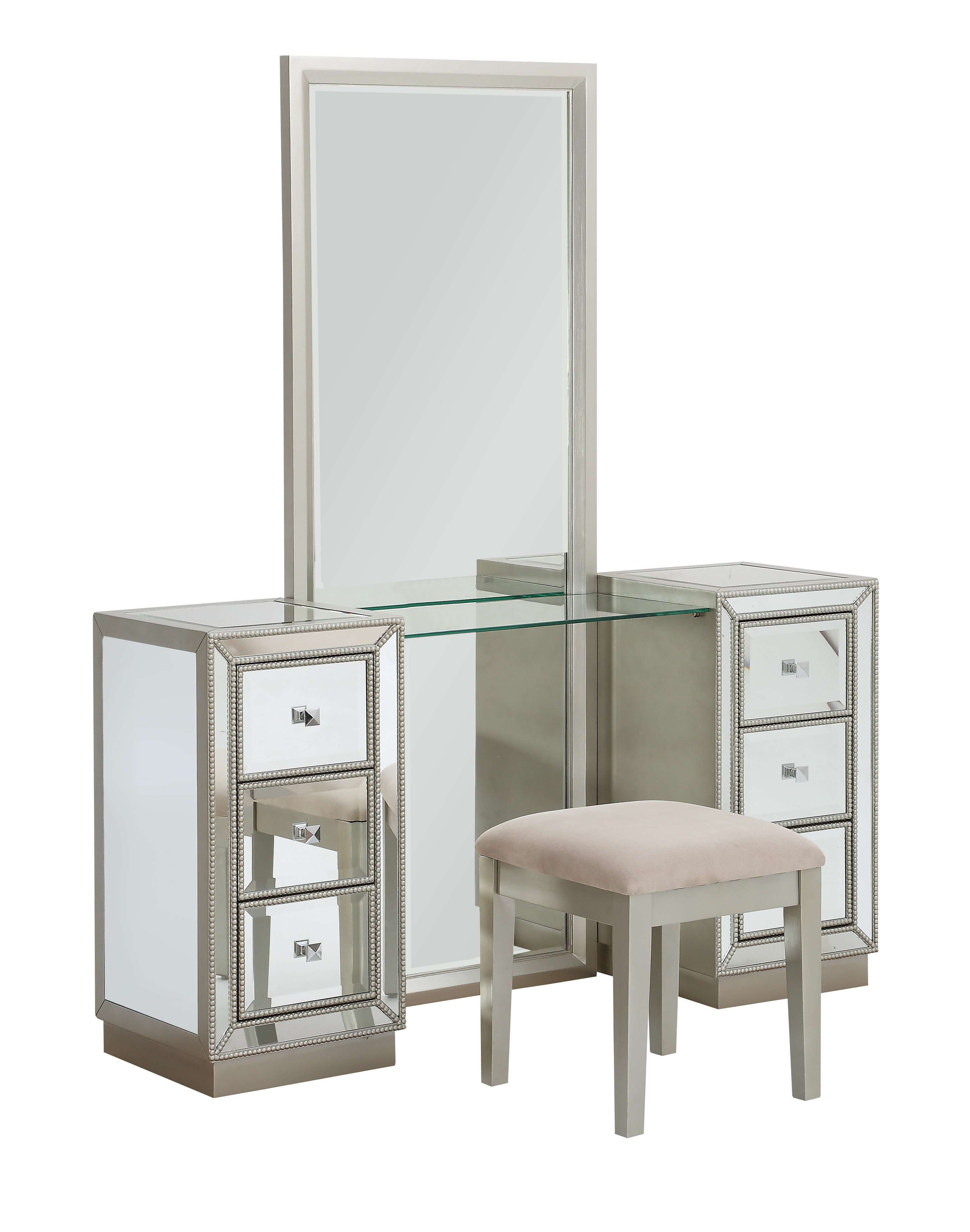 Primm Storage Vanity Set With Mirror