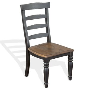 Patenaude Solid Wood Dining Chair by August Grove