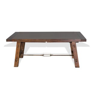 Hardin Extendable Solid Wood Dining Table