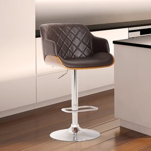 Greggs Adjustable Height Swivel Bar Stool