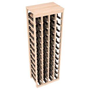 Karnes Pine 48 Bottle Floor Wine Rack