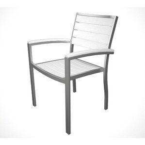 Euro Stacking Patio Dining Chair