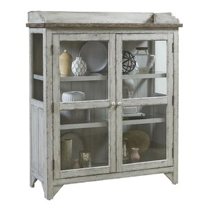 Fredericksburg Console Curio Cabinet by L..