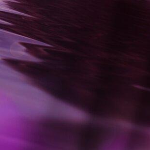 Lebens Art Landscape Surreal Purple Single Shower Curtain