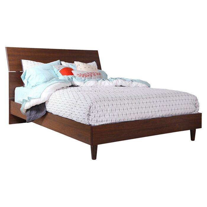 default_name - South Shore Olly Queen Platform Bed & Reviews Wayfair