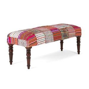 Gepolsterte Sitzbank Florese aus Holz von Massivum
