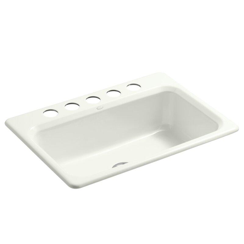 "Bathroom Sinks 31 X 22 kohler bakersfield 31"" x 22"" x 8-5/8"" under-mount single-bowl"