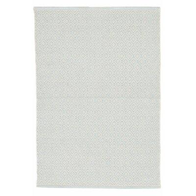 Fair Isle Hand Woven Green/White Area Rug & Reviews | Birch Lane