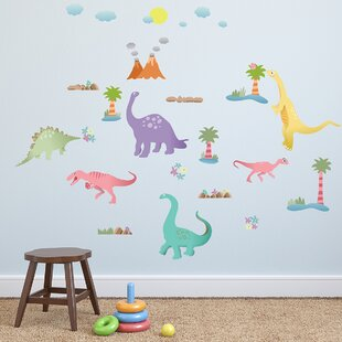 Happy Dinosaurs Wall Decal