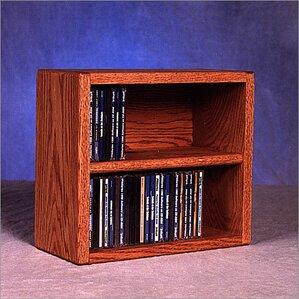 200 Series 52 CD Multimedia Tabletop Storage Rack