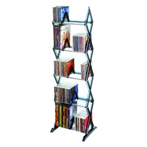 Mitsu 5 Tier Multimedia Storage Rack by Atlantic