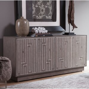 Mercury Media Credenza by Artistica Home