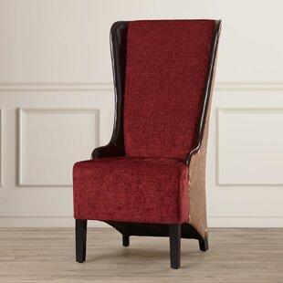 Brisa High Back Fabric Arm Chair