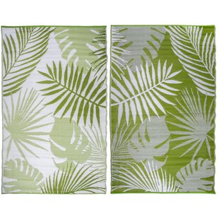 Bardell Green Indoor/Outdoor Rug by Bay Isle Home
