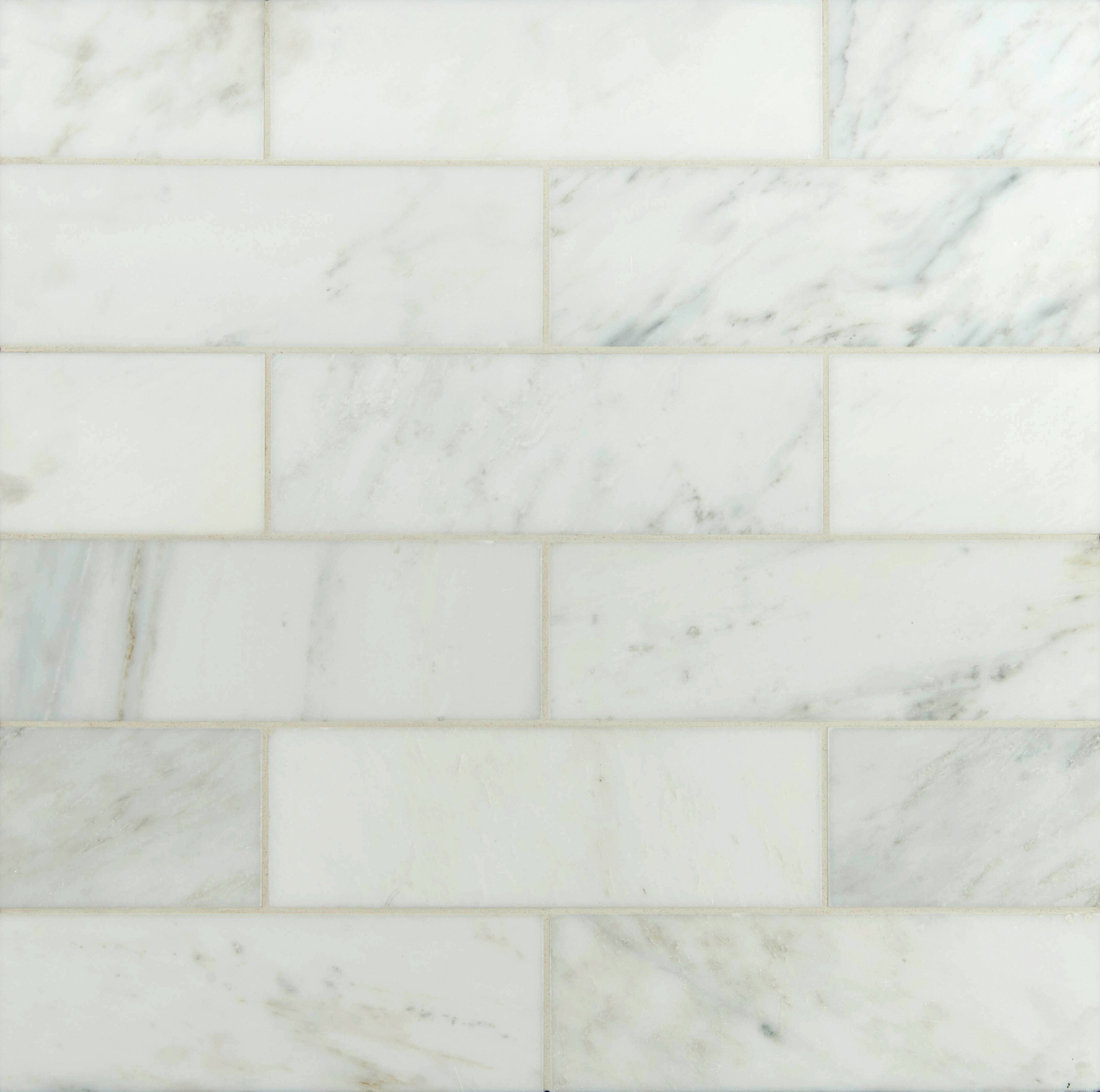 MSI X Polished Marble Tile In Carrara White Reviews Wayfair - 36 inch marble tile