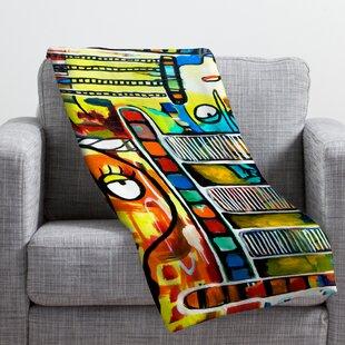 Robin Faye Gates Musical Chairs Throw Blanket