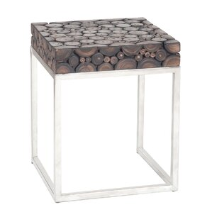 Overmoor End Table by Rosecliff Heights