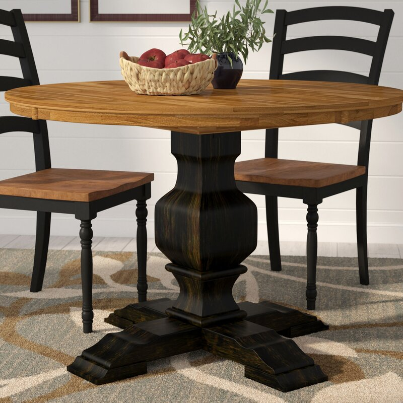 Solid Wood Kitchen Tables: Fortville Solid Wood Dining Table & Reviews