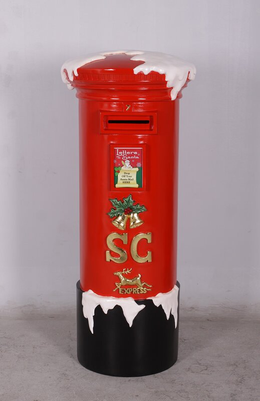 Queens Of Christmas Polyresin Mail Box Christmas Decoration Reviews Wayfair