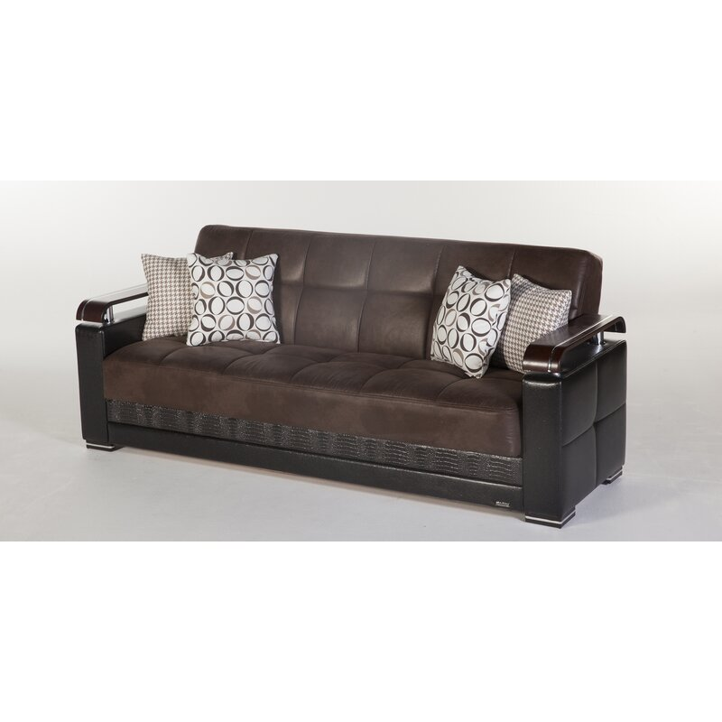 Orren Ellis Somerton 3 Seat Sofa Bed   Wayfair