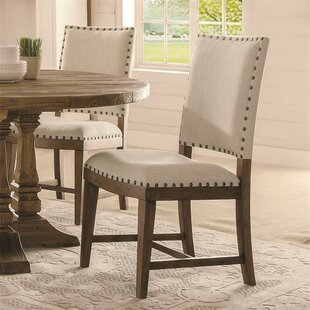 Woosley Upholstered Dining Chair (Set of 2)